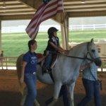 Emily on horse