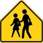 School route sign